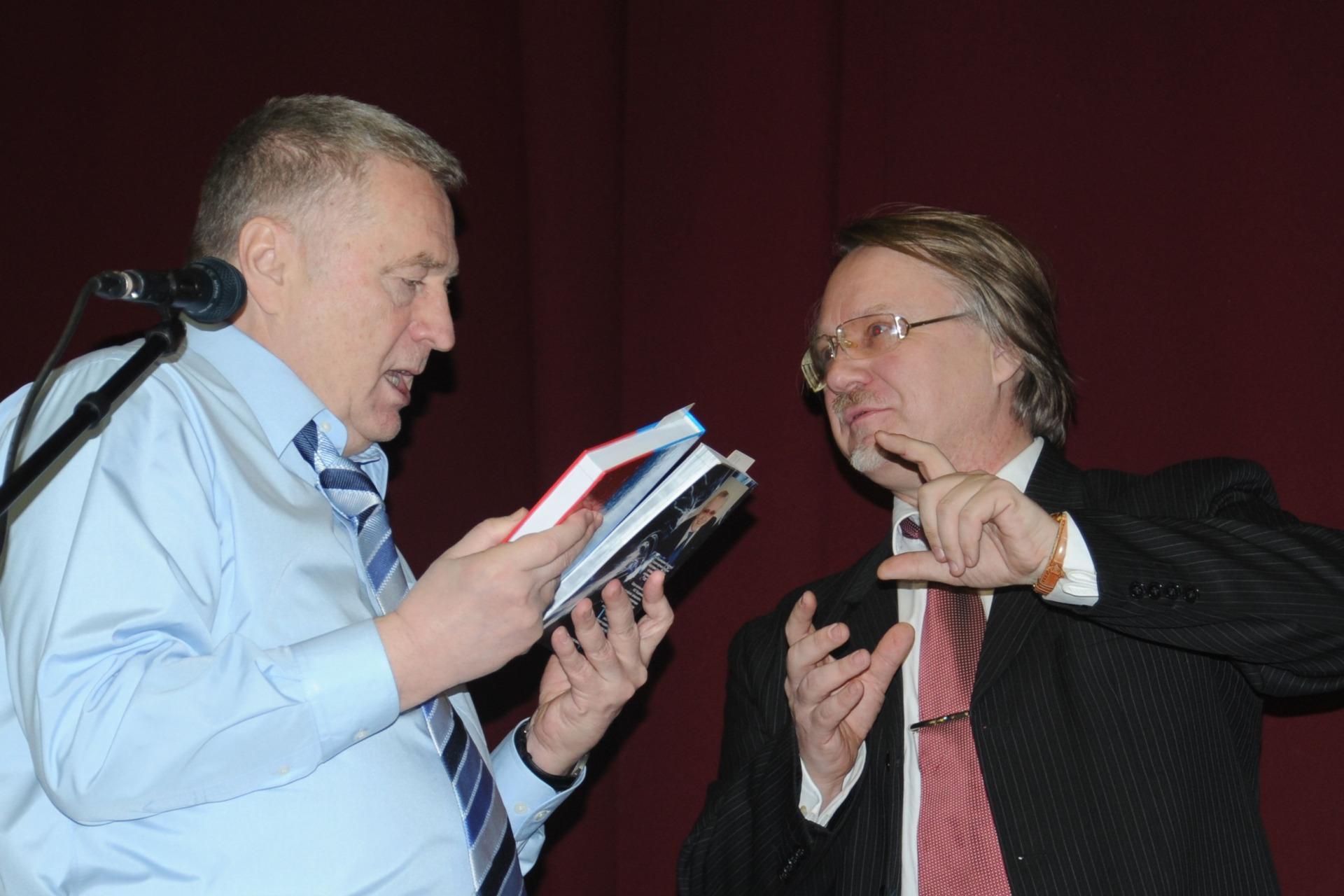 Жириновский и Некрасов