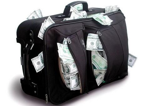 Картинки по запросу черный чемоданчик с деньгами